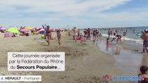 40e Journée des Oubliés des Vacances à Frontignan avec le secours populaire