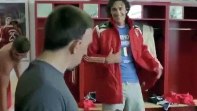 Quand Franck Ribéry se tapait un délire avec Luca Toni