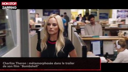 """Charlize Theron : métamorphosée dans le trailer de son film """"Bombshell"""" (vidéo)"""