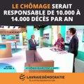 Le chômage tue 10 000 à 14 000 personnes en France