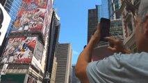 El artista Domingo Zapata pinta el mural más grande de Nueva York