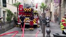 Marseille. Un homme se jette de l'appartement en flammes