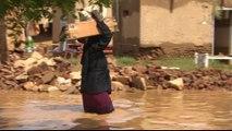 Sudan floods kill scores, displace thousands