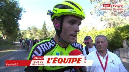 Aristi «Je suis très content» - Cyclisme - T. Limousin