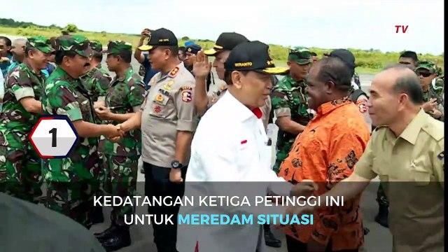 TOP 3 News 22 Agustus 2019, Menko Polkam, Panglima TNI, Kapolri ke Papua; PSI tolak pin emas dewan