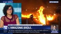 La forêt amazonienne en feu