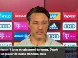 """Bundesliga : 2e j. - Kovac : """"Coutinho n'a pas besoin de glamour"""""""
