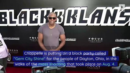 Dave Chappelle to Host Free Block Party in Dayton After Mass Shooting