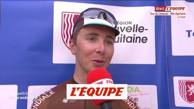 Cosnefroy «Un petit temps d'arrêt qui m'a coûté cher» - Cyclisme - T. Limousin