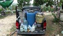 Büfede ele geçirilen kaçak alkol, alkol imalathanesini ortaya çıkardı