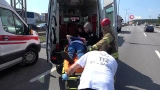 Pendik'te 4 araç birbirine girdi: 3 yaralı