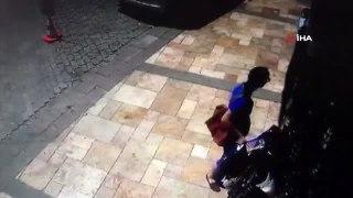 Çaydanlık seti çaldığı mağazadan bu defa tencere seti çaldı.. Hırsızlık anı kamerada