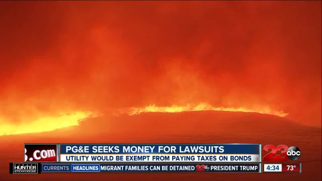 PG&E seeks money to cover costs of lawsuits
