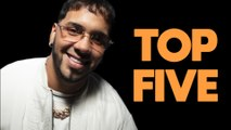 Anuel AA ranks his top 5 action movie stars, raves about Keanu Reeves