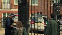 Boris Johnson arrives at Downing St after EU leader talks
