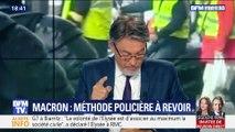 Emmanuel Macron: méthode policière à revoir