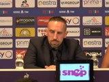 """Fiorentina - Ribéry : """"Pas venu ici pour concurrencer Cristiano Ronaldo"""""""