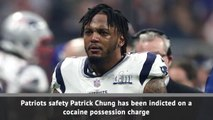 Patrick Chung indicted on cocaine charge