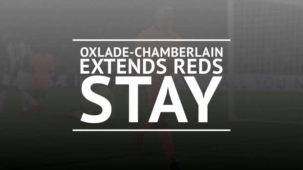 Oxlade-Chamberlain extends Reds stay