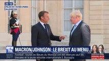 Brexit: Boris Johnson et Emmanuel Macron ont assuré vouloir trouver un accord