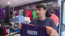 Florence en folie pour l'arrivée de Franck Ribery