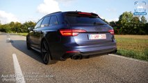 540HP AUDI RS4 B9 Rennsport 0-300km/h ACCELERATION by AutoTopNL