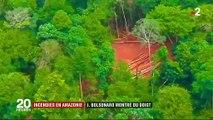 Incendies en Amazonie : Jair Bolsonaro pointé du doigt