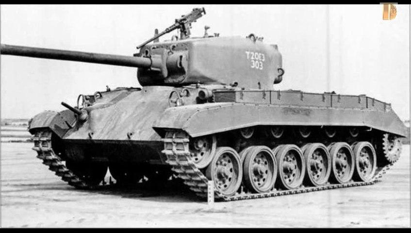 Blindés-62-M26 Pershing