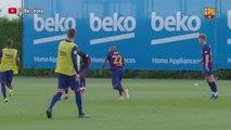 @TheBuzzer: ¡Messi ha vuelto!