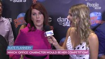 'DWTS' Contestant Kate Flannery Reveals Which 'Office' Character Would Be Her Biggest Competition