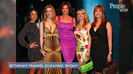 Bethenny Frankel Is Leaving 'The Real Housewives of New York City'