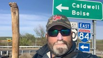 A Veteran Walks Across America For A Great Cause
