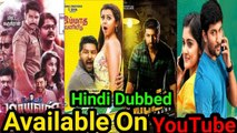 Top 10 New South Hindi Dubbed Movies Available On YouTube