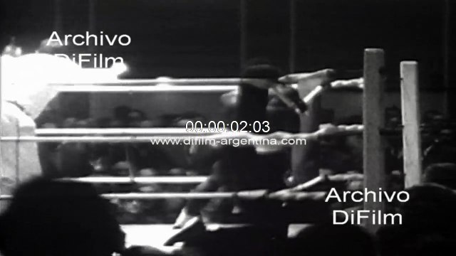 Jose Manuel Ibar Urtain derrota por Knock-Out a pugilista 1969