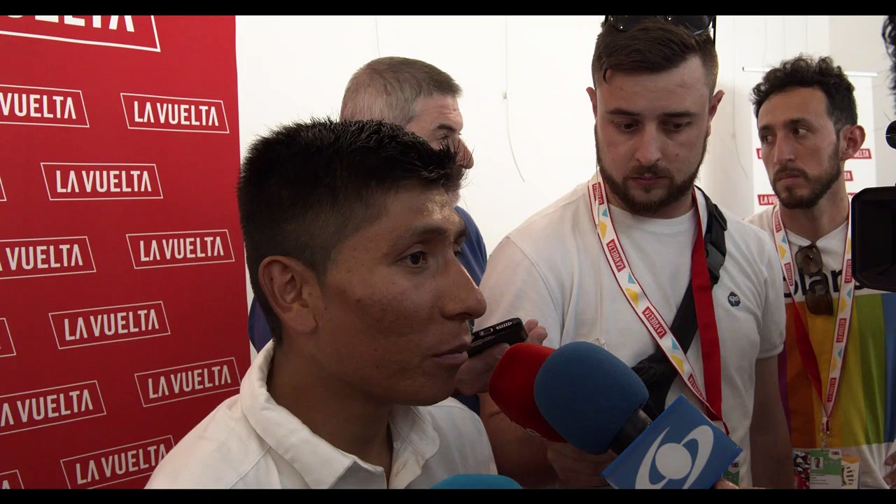 Interview Quintana | La Vuelta 19