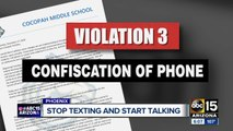Valley school says new cell phone policy is working
