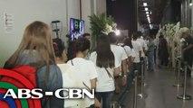 Mga nakikiramay, bumuhos sa burol ni ABS-CBN Foundation Chairperson Gina Lopez | UKG