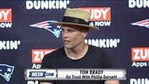 Tom Brady On Trust With Phillip Dorsett