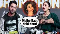 Tabu Walks Off Ignoring Priyanka Chopra's UNICEF Controversy   Ayushmann Supports