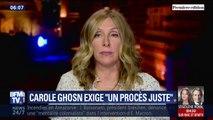 L'épouse de Carlos Ghosn a de nouveau appelé Emmanuel Macron à intervenir auprès du Premier ministre japonais