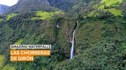 Amazing Waterfalls: The Enchanted Waterfalls of Ecuador