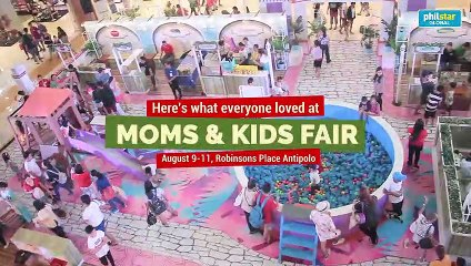 Robinsons Supermarket mom and kids fair 2019