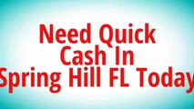 Get Auto Title Loans Spring Hill FL   352-600-0019