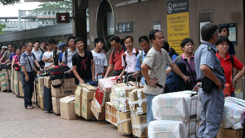 Parallel trading in Hong Kong's northern districts