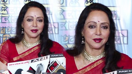 Hema Malini launches her music video on Janmashtami; Watch video | FilmiBeat