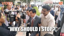 Paul Yong: Why must I go on leave?