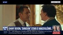 """Dany Boon, Guillaume Gallienne et toute l'équipe du film """"Le Dindon"""" étaient à Angoulême pour le présenter en avant-première"""
