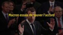 Macron essaie de sauver l'accord sur le nucléaire iranien avant le G7