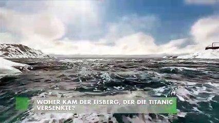 Woher kam der Eisberg, der die Titanic versenkte?