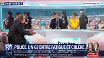 Police : un G7 entre fatigue et colère